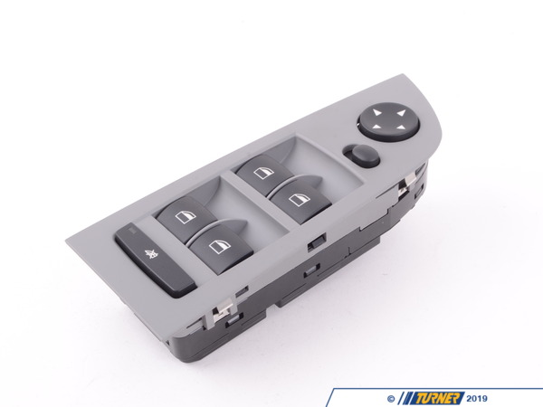 T#143408 - 61319217327 - Genuine BMW Window Lifter Switch, Driver - 61319217327 - Grau - Genuine BMW -