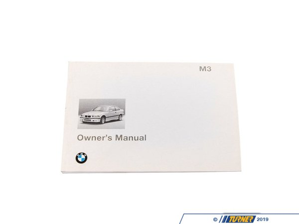 T#26789 - 01419789997 - Genuine BMW Owner's Handbook M3 E36/4/2/C - 01419789997 - E36 - Genuine BMW -