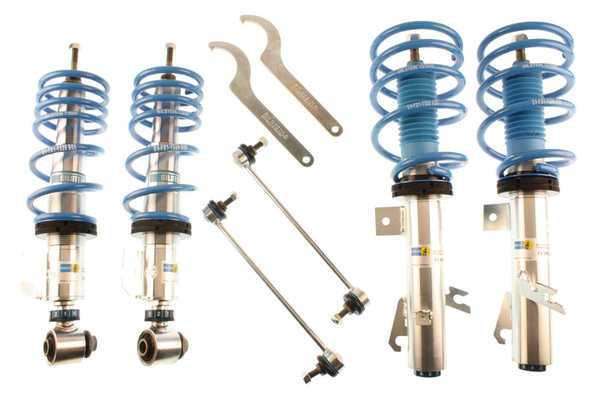 "T#1394 - 48-153720 - MINI R55/R56 Bilstein PSS10 Coil Over Suspension - This Bilstein PSS10 Coil-Over Suspension fits all 2007 and newer MINI Cooper, Cooper S, and Clubman models. Bilstein engineered this kit to have 10 useable pre-set settings for damper rates and an adjustable ride height. Set your stance and ride height, dial in your preferred suspension stiffness, and hit the road! Click through the damper rate settings to find one that suits your driving style and road conditions - 10 for a soft daily-driver ride, 1 for a super-stiff track-worthy setup. Ride height is adjusted through a range of -1"" to -1.8"" lower than stock non-sport height.This kit is easy to use, engineered with Bilstein's exclusive and patented damper technology, and their limited lifetime warranty.This coilover kit fits the following MINIs:2007+  R55 MINI MINI Cooper Clubman, MINI Cooper S Clubman2007+  R56 MINI  MINI Cooper, MINI Cooper S - Bilstein - MINI"