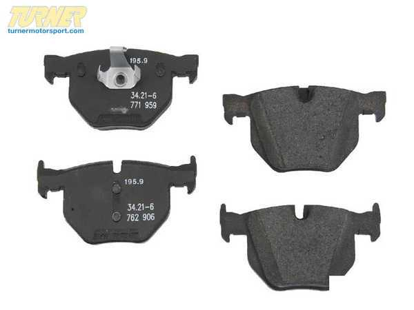 T#15903 - 34216776937 - OEM Pagid Rear Brake Pad Set - E70/71 F15/16 - These are the OEM brake pads to fit the specific BMWs listed below. BMW used several different suppliers for their brake pads and we buy direct from their distributors to get you the same pad as originally equipped but at a fraction of the cost of the local BMW dealer. OEM brands include Pagid, Textar, Jurid, Ate, and others. These are the same pads as what originally came on your car but without the expensive BMW logo.This item fits the following BMWs:E70 BMW X5 3.0si 3.5d35dX 35iXE71 BMW X6 35iXF15 BMW X5 40eX - Pagid - BMW
