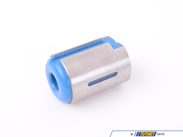 "T#395189 - 021012TMS02 - Turner Polyurethane Shifter Arm Carrier Bushing - E36 E46 E9X F30 F32 E39 E60 - Even after rebuilding your manual transmission shifter with brand new BMW components or installing a short shift kit, your shifts will still be at the mercy of soft factory bushings. Designed with 100% comfort and low manufacturing costs in mind, BMW's factory carrier bushing offers a freedom of movement on all axis, resulting in ""factory installed slop"". Any manual transmission aficionado knows that when it comes to shifting, slop is the enemy. Causing inconsistent gear locations, embarrassingmissed shifts, and an overall experience that is less than confidence inspiring. After servicing countless shifters, our team decided to step in and address this shortcoming.Our engineers designed a bushing that was simple to install, requiring no modifications or reuse of old components, and delivers an improved shifting experience with any factory or aftermarket performance shifter.Our carrier bushing is manufactured in the USA from 70A polyurethane, bonded securely to a304 stainless steel housing for exceptional corrosion resistance. The result is a complete design solution that offers much crisper shifting and a more engaging driving experience with nearly zero added gearbox noise or vibrations.As part of a shifter upgrade, rebuild, or as a standalonecomponent upgrade, our bushing assembly delivers immediate, long-lasting shifting improvements.**Installation instructions**Features:Corrosion resistant 304 stainless steel mounting sleeve with bonded 70a polyurethaneStiffer bushing results in crisper shifter feel and a more engaging driving experience.Ready to install out of the box - no modifications requiredReplaces Genuine BMW part number25111222015 and25111222652Improved durability over OEM rubberMade in AmericaHave an older BMW? Our shifter carrier bushing upgrade for older models offers similar performance for your classic BMW and can be found here.This item fits the following BMWs:2008-2013E82 BMW128i 135i 135is 1M Coupe1992-1998E36 BMW318i 318is 318ti 318ic 323is 323ic 325i 325is 325ic 328i 328is 328ic M31999-2005E46 BMW323i 323ci 325i 325ci 325xi 328i 328ci 330i 330ci 330xi M32006-2011E90 BMW325i 325xi 328i 328xi 328i xDrive 330i 330xi 335d 335i 335xi 335i xDrive M3 - Sedan2006-2012E91 BMW325xi 328i 328xi 328i xDrive - Wagon2007-2013E92 BMW328i 328xi 328i xDrive 335i 335is 335xi 335i xDrive M3 - Coupe2007-2013E93 BMW328i 335i 335is M3 - Convertible2015F80 BMWM32012-2015F30 BMW320i 320i xDrive 328d 328d xDrive 328i 328i xDrive 335i 335i xDrive - Sedan2014-2015F34 BMW328i xDrive GT - Gran Tourismo2013-2015F32 BMW428i 435i 435i xDrive - Coupe2013-2015F33 BMW428i Convertible 435i Convertible - Convertible2014-2015F36 BMW428i Gran Coupe 435i Gran Coupe2015F82 BMWM41997-2003E39 BMW525i 528i 530i 540i M52004-2010E60 BMW525i 525xi 530i 530xi 528i 528xi 528i xDrive 535i 535xi 535i xDrive 545i 550i M52011+F10 BMW535i 550i M52004-2010E63 BMW645ci 650i M62012+F12 BMW650i M62013+F06 BMWM6 Gran Coupe2013+E84 BMWX1 xDrive28i2004-2010E83 BMWX3 2.5i X3 3.0i X3 3.0si1996-2002Z3 BMWZ3 1.9 Z3 2.3 Z3 2.5i Z3 2.8 Z3 3.0i M Roadster M Coupe2003-2008E85 BMWZ4 2.5i Z4 3.0i Z4 3.0si Z4 M Roadster M Coupe2009+Z4 BMWZ4 sDrive28i Z4 sDrive30i Z4 sDrive35i Z4 sDrive35is - Turner Motorsport - BMW"