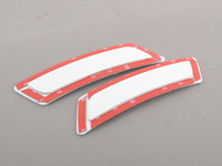 Alpine White (300) Painted Reflectors - F10 5 series F12/ F13 6 series (not for M6 bumpers)