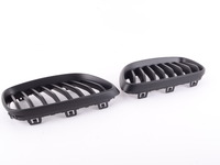 Matte Black Blackout Grille Set - F22