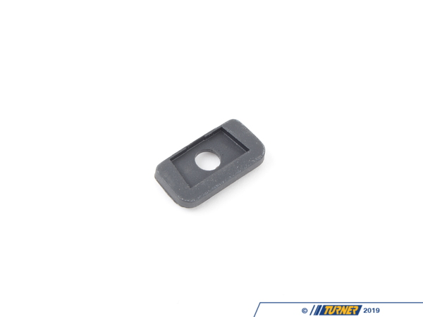 T#86204 - 51168237530 - Genuine BMW Spacer Hook Rolller Shade Sid - 51168237530 - Schwarz - Genuine BMW -