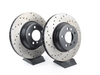 StopTech Cross-Drilled Brake Rotors - Front - E65 745i/li 750i/li 760li (pair) 34116750267CD