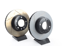T#12187 - 34111159896GS - Gas-Slotted Brake Rotors (Pair) - Front - E32 ALL, E34 540i - StopTech - BMW