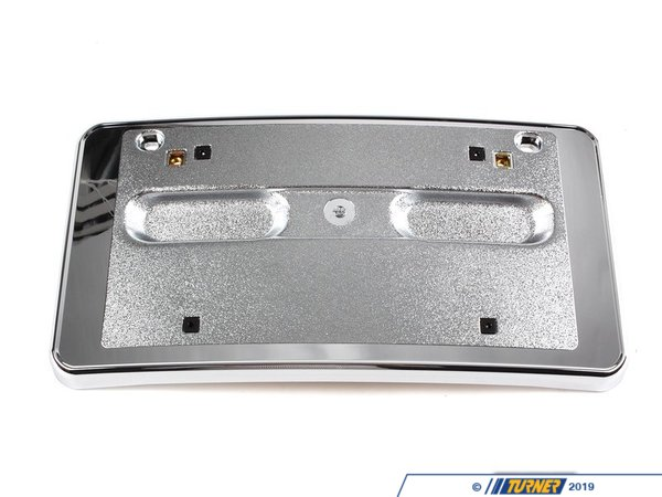 T#77435 - 51118255006 - Genuine BMW Licence Plate Base Chrom / Us - 51118255006 - E46 - Genuine BMW -