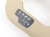 T#83869 - 51167158477 - Genuine BMW Cover, Gear Selecting Lever Beige - 51167158477 - E85 - Genuine BMW -
