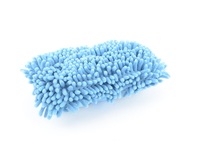 Chemical Guys-Double Sided Chenille Blue Wash Sponge With Hand Strap.
