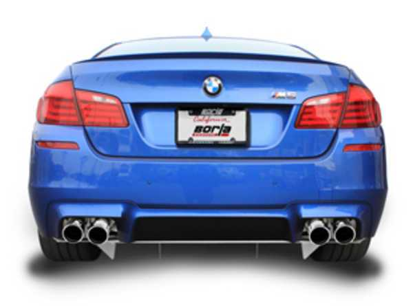 T#189789 - 140511 - Borla Cat-Back S-Type Sport Exhaust - F10 M5 - Borla - BMW