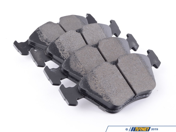 T#400687 - HB135B.760. - Hawk HPS 5.0 Street Sport Brake Pads - Front - E32, E34, E36 M3, E46 M3, E39 528i, Z3 M - A high-performance street pad with much-improved braking performance and without the levels of dust from a factory pad. The Street 5.0 pads are perfect for drivers who dont want an ordinary replacement pad and want something that will hold up during aggressive street driving. The Street 5.0 pads are similar to the established Hawk HPS pads but with more initial bite. While the HPS pads fill the need of a direct replacement OEM-type pad, the Street 5.0 kicks braking performance into the next gear. With the Street 5.0 pads you can expect:Better stopping power even when the pads are coldGood initial bite (more than on Hawk HPS)Excellent resistance to fade during street useModerate dust during normal street drivingQuiet operationEasy on rotorsFits the following BMWs:E32, E34, E36 M3, E46 M3, E39 528i 525i, Z3 M - Hawk - BMW