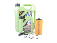 T#555444 - LM0CK18KT - Liqui Moly Molygen 5w-40 Oil Service Kit - M60 M62 M70 M73 - Packaged by Turner - BMW