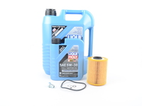 T#555426 - LM0CK1KT - Liqui Moly Longtime High Tech 5w-30 Oil Service Kit - E36 M3 Z3 (S52) - Packaged by Turner - BMW