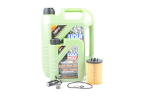 T#555431 - LM0CK10KT - Liqui Moly MolyGen 5w-40 Oil Service Kit - E53 X5 (N62) - Packaged by Turner - BMW