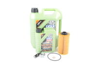 T#555439 - LM0CK13KT - Liqui Moly MolyGen 5w-40 Oil Service Kit - M62 M73 - Packaged by Turner - BMW