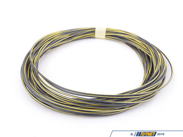 T#137875 - 61121391703 - Genuine BMW Cable Black-yellow - 61121391703 - Genuine BMW -