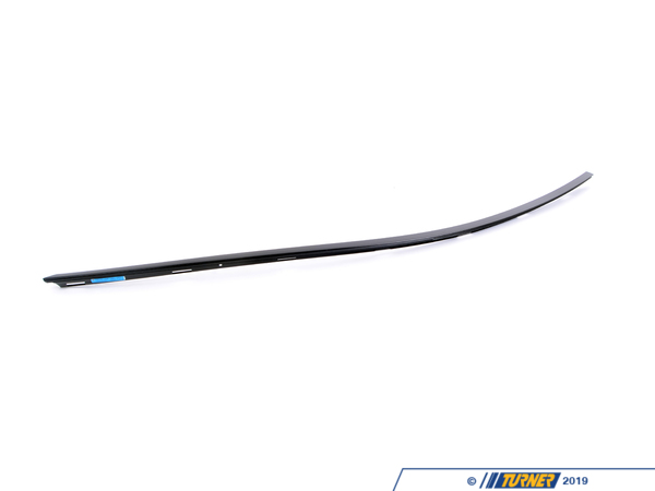 T#93324 - 51337221330 - Genuine BMW Finisher, Side Frame Right - 51337221330 - Gloss Black - Genuine BMW - BMW