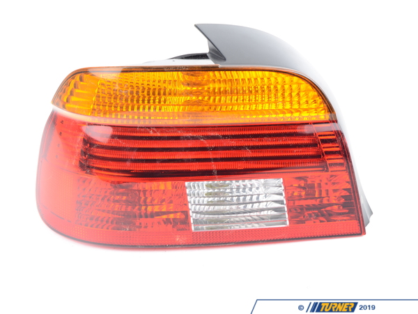 Genuine BMW Tail Light Amber - Left - E39 01-03 - 525i 528i 530i 540i M5 63216900211