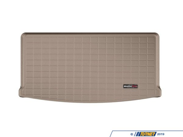 T#398961 - 41667SK - Cargo liner With Bumper Protector - Tan - F15 - WeatherTech - BMW