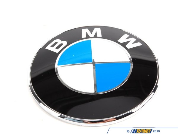 T#12364 - 51147721222 - Genuine BMW Badge D=70mm - 51147721222 - Genuine BMW -