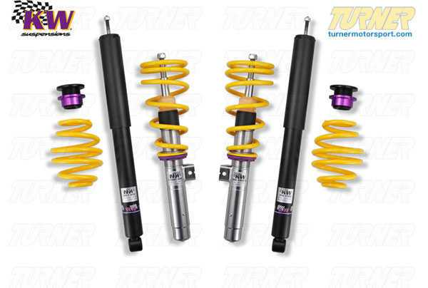 T#11561 - 10220023 - E46 M3 KW Coilover Kit - Variant 1 (V1) - KW Suspension - BMW