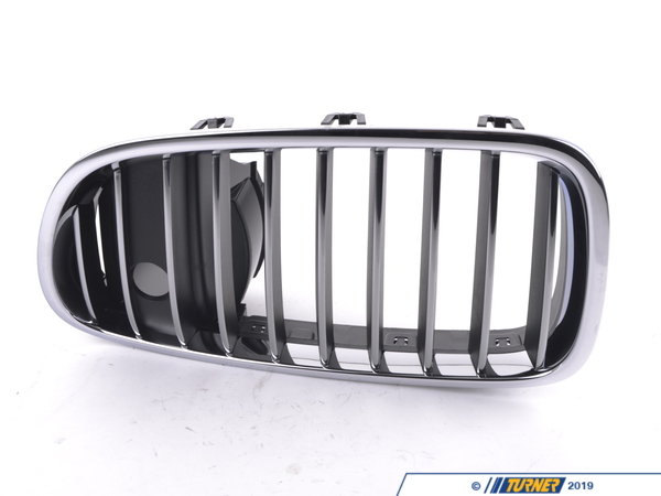 T#80081 - 51137203203 - Genuine BMW Grille, Front, Left - 51137203203 - F10 - Genuine BMW -