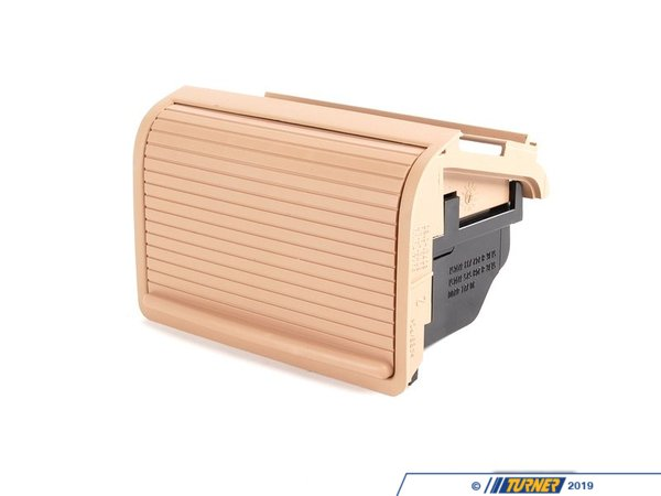 T#86239 - 51168242733 - Center Console Rear Storing Partition - Beige - E46  - Genuine BMW - BMW