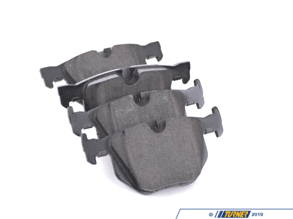 T#19702 - 34216784135 - OEM Rear Brake Pads - E60 528i/xi - These are replacement rear brake pads for the E60 528i and 528i X-drive (528xi). The pads are the same as the original pads and made by one of BMW's OEM brake suppliers (Textar, Pagid, Ate, or Jurid). They are a direct fit and replacement with the same performance and characteristics as the original BMW pads but at half the cost!This item fits the following BMWs:2008-2010  E60 BMW 528i 528xi 528i xDrive 535xi 535i xDrive  - Textar -