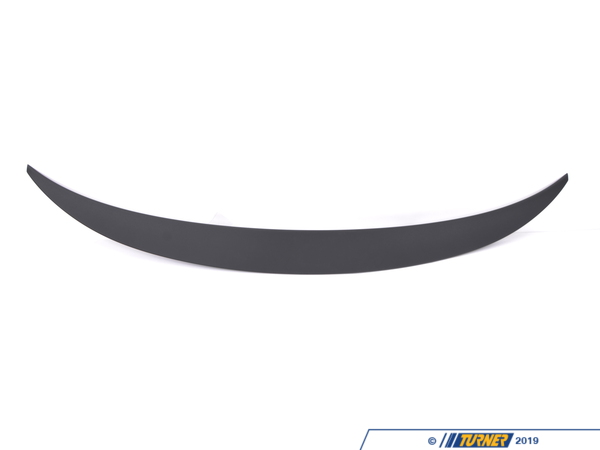 T#5173 - 51622161763 - BMW Performance Rear Decx6 Black - Genuine BMW -