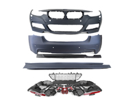 BMW F30 3 Series M-Sport Aerodynamic Kit (2012-Up/ fits 4 door sedan only)