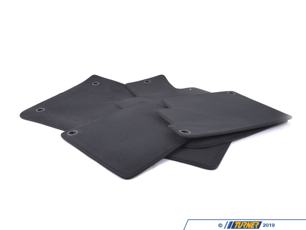 T#110217 - 51471914406 - Genuine BMW Set Of Floor Mats Velours Anthrazit - 51471914406 - Genuine BMW -