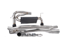 AFE Mach Force-Xp Cat-Back Exhaust w/ Gloss Black Tips - F30 340i BMW