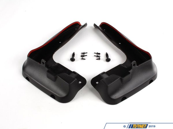 T#11425 - 82160395944 - Genuine BMW Set Mud Flaps, Front - 82160395944 - E90 - Genuine BMW -