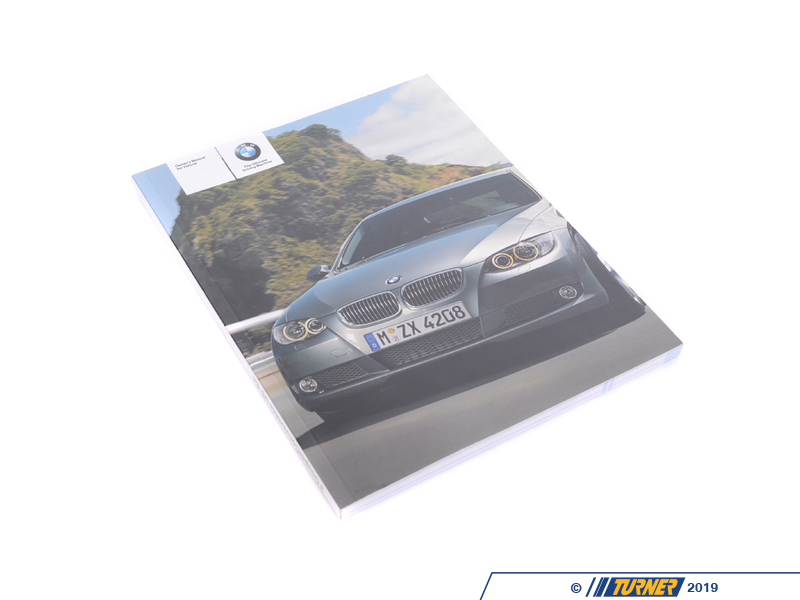 T#26385 - 01410013668 - Genuine BMW Owner's Manual For E92, E93 - 01410013668 - Genuine BMW -