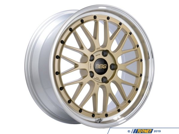 "BBS 19"" Style LM 278 Wheels - Square Set Of Four lm278gpkKT"