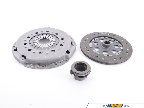 T#3996 - 21211223135 - Clutch Kit - E34 535i - Kit includes Clutch Disc, Pressure Plate, and T/O Bearing. Call for applications not listed above. SACHS is the OEM supplier for BMW. - Sachs - BMW