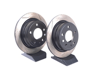 Gas-Slotted Brake Rotors (Pair) - Rear - E24 633CSi/M6 & E28 528e/533i/535i/M5