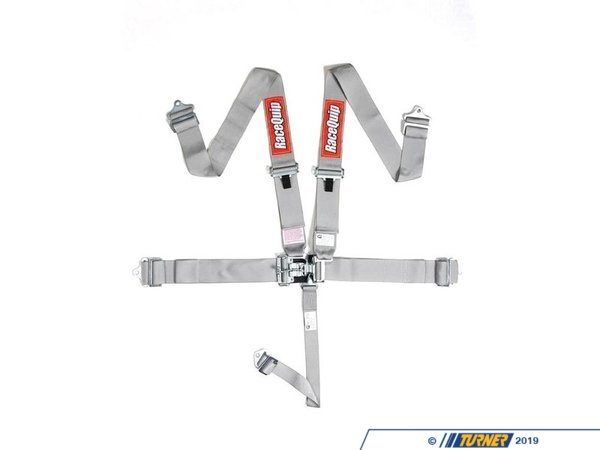 "T#403220 - 7110XX5PT - RaceQuip 5 Point Latch And Link 3"" Racing Harness - SFI 16.1 Approved - Racing harnesses are required at any respectable track or strip, but they tend to run upwards of hundreds of dollars. RaceQuip designs and builds safety equipment for just this issue! Since 1975, RaceQuip has been building some of the highest quality racing safety gear on the market. Their high quality and low cost safety gear is the result of wanting to provide ""The Best Value in Safety"", that keepsdrivers safe without draining their wallet.This Standard 5 Point Latch and Link Racing harness is RaceQuips most popular racing harness, priced at $74.99 or below while still being fully SFI 16.1 Approved.All harness systems are constructed using drop-forged steel hardware for ultimate strength and reduced weight. All hardware is cadmium plated for added protection. They use only 3"" premiumpolyester webbing and all belts are box-x pattern sewn to ensure uniform stitch length and strength. Belts and hardware are routinely tested to verify compliance with SFI 16.1 standards.All of their harness sets feature a latch & link system to retain the belts. The latch & link system is distinguished by a pivoting ""hammer,"" called a Duckbill, which locks all of the belts into place by snapping down into a detent. Both shoulder belts and the sub belt are hooked over the link; the link is inserted into the latch; the Duckbill is then brought down into and over the link, securely holding all of the pieces in place.RaceQuip Latch & Link Harness Systems come as a ""pull down"" design. This means that the lap belts must be pulled down and away from the center latch mechanism to tighten.Since their belts are ""double adjustable"", lengths are easily adjusted on either end for ease of installation. Using the included three bar slide you can mount the belts by either wrapping them around a rollbar or by bolting them in place. Snap-in ends and eyebolts are sold separately if you want to install your belts in that manner.Features and Specifications:Exceeds SFI 16.1 Rating (SFI Tags Affixed)NOT D.O.T. / FMVSS Certified for On Highway UsePremium 3""Polyester WebbingTwin Individual Shoulder BeltsPull Down Style Lap Belt5 Point Design - Single 2"" Crotch Sub Strap3"" Hardware Ends InstalledDouble Adjustable for Ease of InstallationWrap Around or Bolt-in MountingDrop-Forged Steel Hardware (no bolts)Shoulders Adjust from 20"" to 62""Lap Belt Adjusts 20"" to 60""Available in Black, Red, Blue, Yellow, Orange, Purple, Platinum, Green and PinkCan Be Re-webbed (SFI) Upon Expiration - Racequip - BMW MINI"
