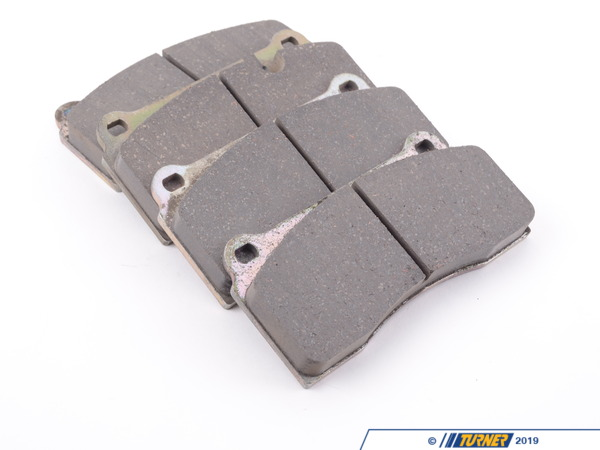 T#16480 - ST04R780-18SCO - Brembo Calipers F40, F50, B, H, GT1 - Street Brake Pad Set - Brembo ST04 Ceramic - These are the standard Brembo ceramic brake pads found in most GT big brake kits. They offer the best of all worlds - long life, good initial bite, fade resistance, and moderate dust. Price is for a set for two calipers.This pad set fits the following Brembo 4-piston calipers:F40 / F50 / Type B / Type H / GT1 / Monobloc PF40 calipers are found in many Brembo GT Big Brake Kits, including these BMW models:2008-2012  E82 BMW 128i 135i 1M Coupe1992-1998  E36 BMW 318i 318is 318ti 318ic 323is 323ic 325i 325is 325ic 328i 328is 328ic M31999-2005  E46 BMW 323i 323ci 325i 325ci 325xi 328i 328ci 330i 330ci 330xi M32006-2011  E90 BMW 325i 325xi 328i 328xi 328i xDrive 330i 330xi 335d 335i 335xi 335i xDrive M3 - Sedan2006-2012  E91 BMW 325xi 328i 328xi 328i xDrive - Wagon2007-2013  E92 BMW 328i 328xi 328i xDrive 335i 335is 335xi 335i xDrive M3 - Coupe2007-2013  E93 BMW 328i 335i M3 - Convertible2012+ F30 BMW 328i 335i - Sedan1989-1995  E34 BMW 525i 530i 535i 540i M51997-2003  E39 BMW 525i 528i 530i 540i M52004-2010  E60 BMW 525i 525xi 530i 530xi 528i 528xi 528i xDrive 535i 535xi 535i xDrive 545i 550i M52010+  F07 BMW 535i GT, 535i xDrive GT, 550i GT, 550i xDrive GT2011+  F10 BMW 528i 535i 535i xDrive 550i 550i xDrive M52004-2011  E63 BMW 645ci 650i M62012+  F13 BMW 640i 650i1988-1994  E32 BMW 735i 735il 740i 740il 750il1995-2001  E38 BMW 740i 740il 750il2002-2008  E65 BMW 745i 745li 750i 750li 760i 760li2009+ F01 BMW 740i 740li 750i 750li 750i xDrive 750li xDrive 760li1990-1999  E31 BMW 840i 840ci 850i 850ci 850csi2004-2010  E83 BMW X3 2.5i X3 3.0i X3 3.0si2011+  F25 BMW X3 xDrive28i X3 xDrive35i2000-2006  E53 BMW X5 3.0i X5 4.4i X5 4.6is X5 4.8is2007-2013  E70 BMW X5 3.0si X5 4.8i X5 xDrive30i X5 xDrive35d X5 xDrive35i X5 xDrive48i X5M2008+  E71 BMW X6 xDrive35i X6 xDrive50i X6M1997-2002  Z3 BMW Z3 1.9 Z3 2.3 Z3 2.5i Z3 2.8 Z3 3.0i M Roadster M Coupe2003-2008  E85 BMW Z4 2.5i Z4 3.0i Z4 3.0si Z4 M Roadster M Coupe2009+  Z4 BMW Z4 sDrive30i Z4 sDrive35i Z4 sDrive35is - Brembo - BMW