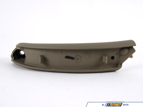 T#98679 - 51418265140 - Genuine BMW Door Handle Front Right Pastellgr?N - 51418265140 - E53 - Genuine BMW -