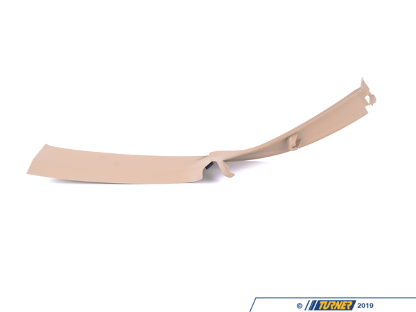 T#104808 - 51438217084 - Genuine BMW Trim Panel Column, Rear Righ - 51438217084 - Sandbeige - Genuine BMW -