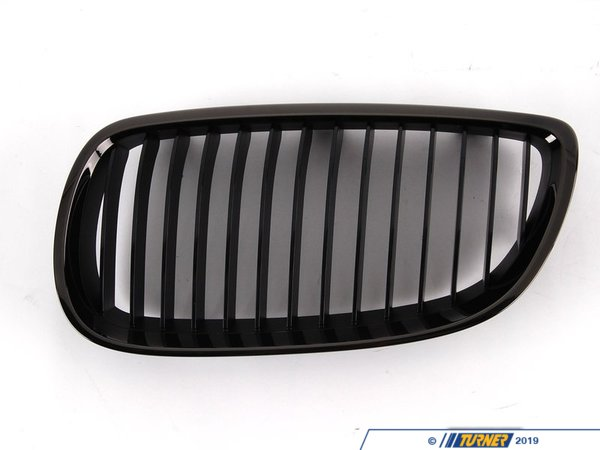 T#13721 - 51137979349 - Genuine BMW Trim Ziergitter Schwarzchrom Link 51137979349 - GENUINE BMW ZIERGITTER SCHWARZCHROM LINK:511311 We also have the complete E9x M3 Black Chrome Grills available as a set. - Genuine BMW -