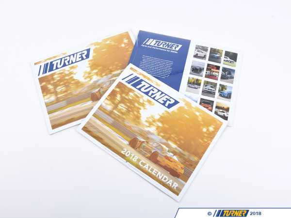 T#403590 - TMSCAL18 - 2018 Turner Motorsport Calendar - It's finally here - our 2018 Turner Motorsport calendar. This is the perfect piece of functional wall art for your home or office - this year's edition features hand-selected photos from your submissions!While most people have calendars at their fingertips nowadays, print calendars will always have a place in our offices. - Turner Motorsport - BMW MINI