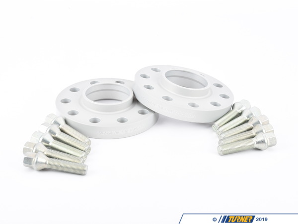 T#5294 - 4075725-E53 - H&R 20mm Wheel Spacers with Wheel Bolts - BMW E53 X5, E83 X3, E65 (Pair) - H&R - BMW