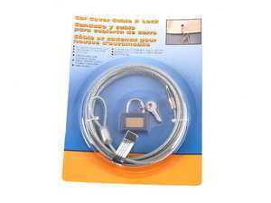 Car Cover Locking Cable