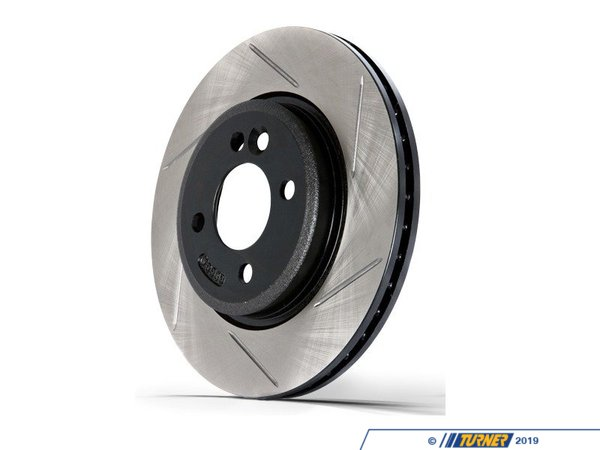 Turner Motorsport Gas-Slotted Brake Rotors (Pair) - Rear - MINI R50-R52-R53 34211503070GS