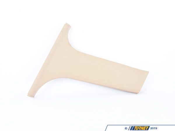 T#104844 - 51438226581 - Genuine BMW Cover, B-Column Bottom Left Hellbeige 2 - 51438226581 - Genuine BMW -