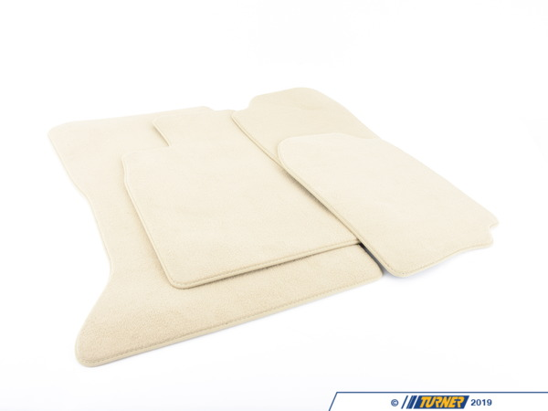 Genuine BMW Genuine BMW Floor Mat Set - beige - F10 528i 535i 550i M5 51477220447