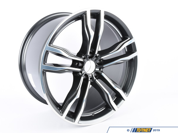 T#214302 - 36112284653 - Genuine BMW Alloy Rim Forged - 36112284653 - Genuine BMW -