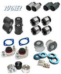 3-series Rear Suspension Mount Package - Rubber Street Bushings - E46 (not M3)